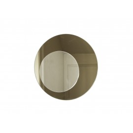 Cirkel spejl, bronze Ø40 cm