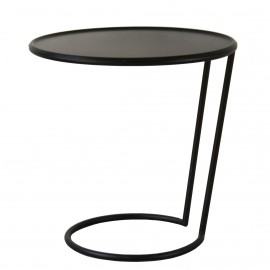 Bakkebord - sort - stort