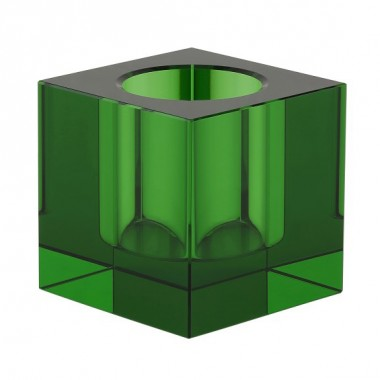 Candle holder - tea light - green