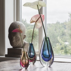 Sæt af 3 vaser