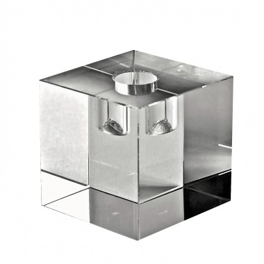 Candle holder - clear