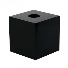 Candle holder - black