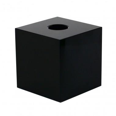 Candle holder - black