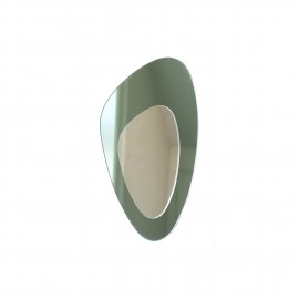 Kidney mirror, green H:54 cm.