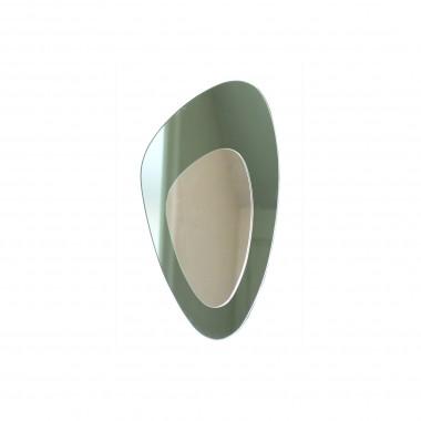 Kidney mirror, green H:54 cm.