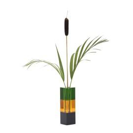 Vase sort/rav/grøn