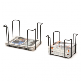 Set of racks, black