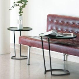 Set of tray tables - black